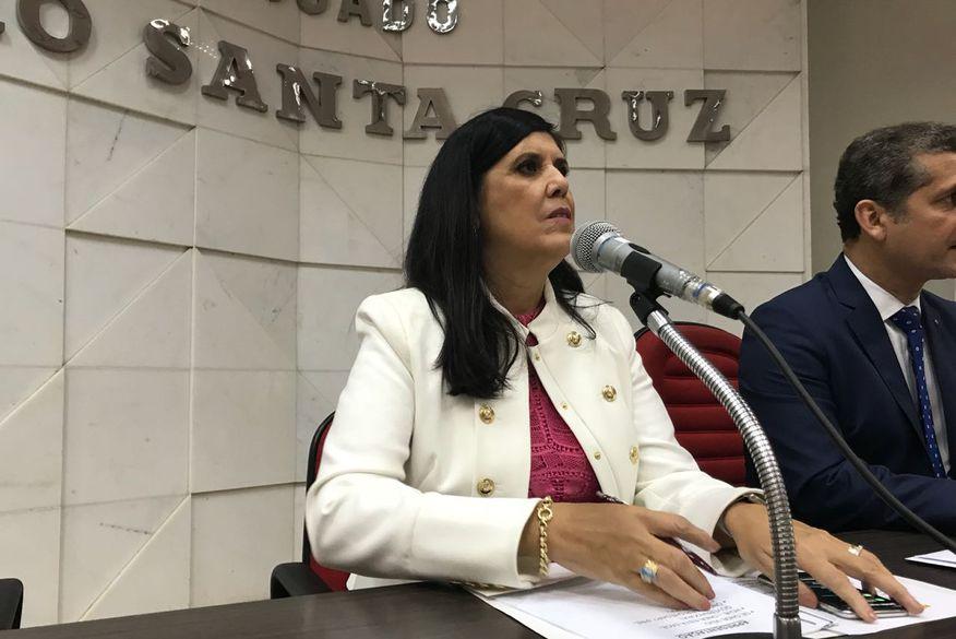 ligia feliciano oab - Lígia Feliciano diz que Paraíba está na contramão da crise do país, mas vê necessidade de avançar