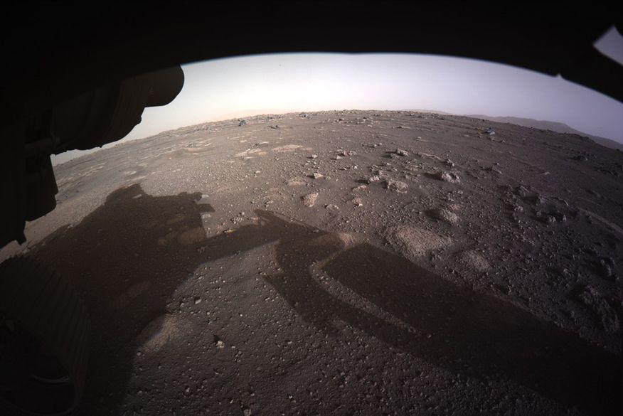 mars-full-collor Robô Perseverance envia primeiras fotos coloridas de Marte