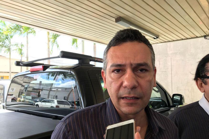 emerson panta   santa rita - José Maranhão busca apoio do prefeito de Santa Rita para sua pré-candidatura a governador