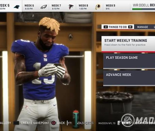 Madden 19 News Connected Franchise Mode Fans Have Reason To Be Excited