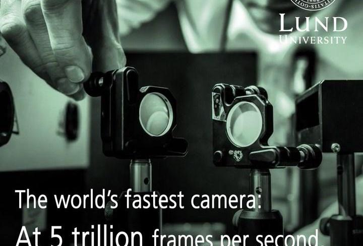 Slow Art With A Trillion Frames Per Second Camera | Frameswall.co