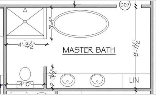 13+ Double Sink Bathroom Layout Background