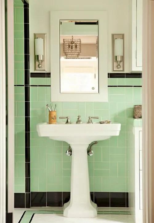 older bathroom without remodeling