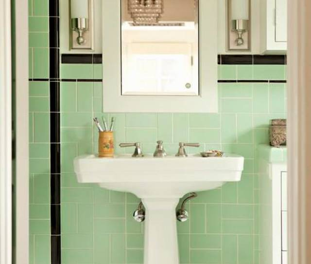 Update The Fixtures Usually A Pedestal Sink Will Still Be In Good Shape After Decades Of Use But A Leaky Faucet And Out Of Date Sconces Will Need To Be