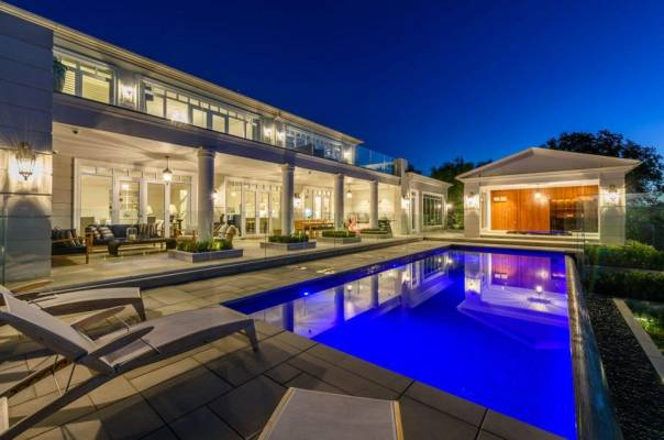 Outdoor living areas are getting more luxurious high tech features.