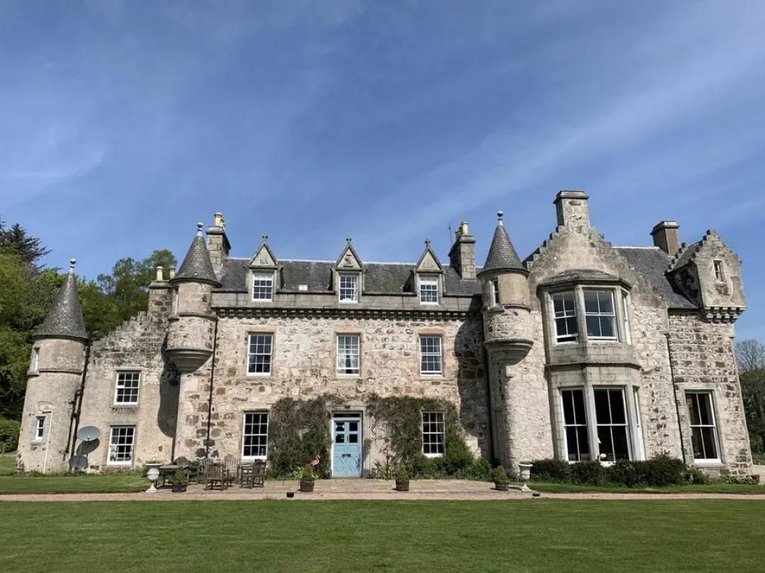 Wardhill Castle in Scotland