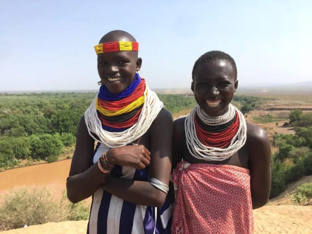 Local women in Ethiopia.