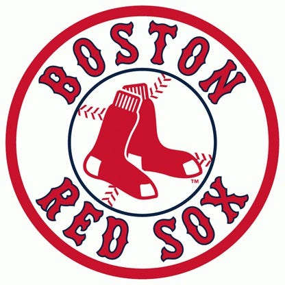 red sox # 8