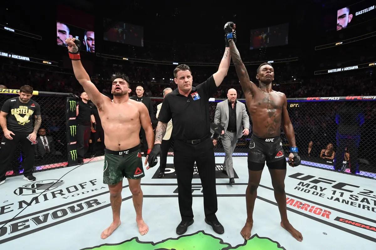 Israel Adesanya Next Fight Date 2020 : Israel Adesanya Vs Kelvin Gastelum Was The Best Ufc Fight Of 2019