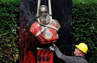 Another Statue Of King Leopold II Comes Down In Belgium—Here's Why