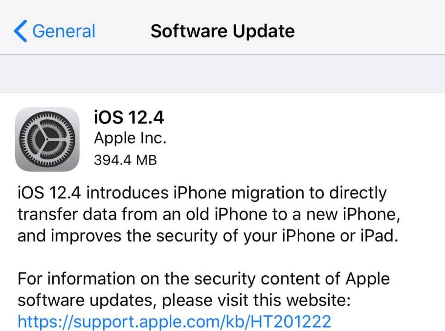 Apple Releases iOS 12.4: The Last iOS 12 Update? Here's All You ...