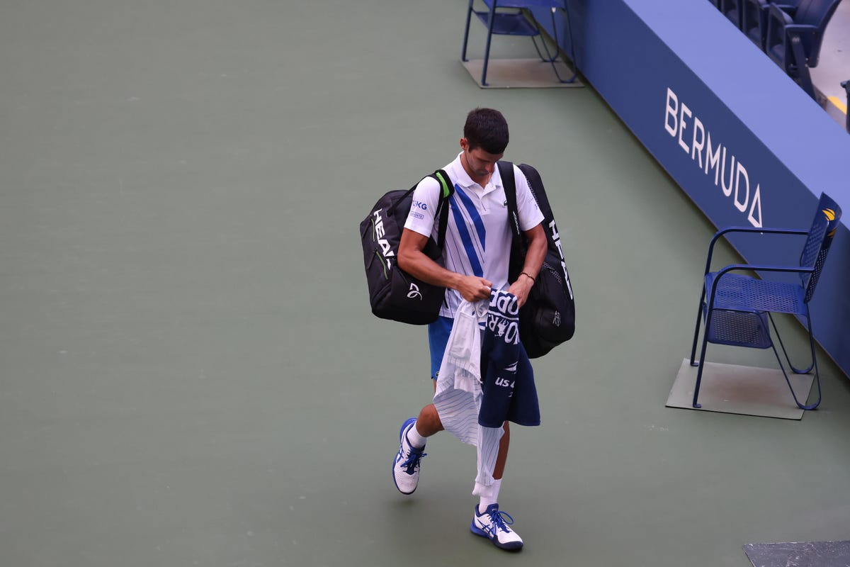 With Novak Djokovic Defaulted At U S Open Some Young Gun Will Win His First Major Title Qnewshub