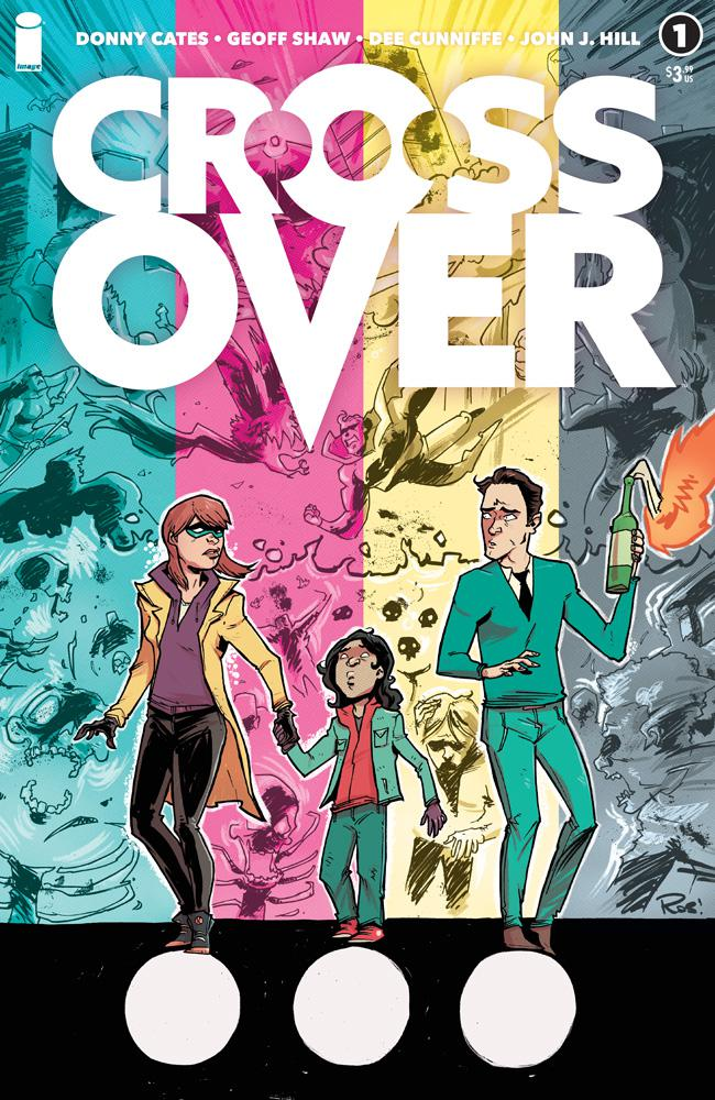 The Entire Comic Book Mythos Bleeds Into Our World With First Look At Donny Cates' 'Crossover'