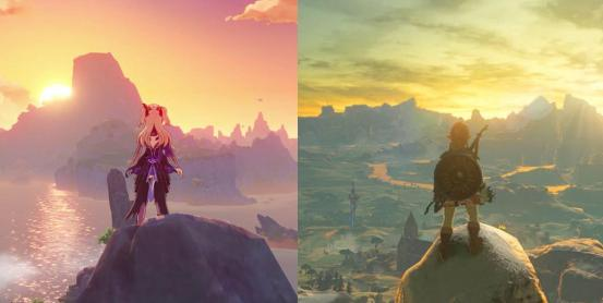 If 'Genshin Impact' wasn't Gacha, it could be better than 'Breath of the Wild'