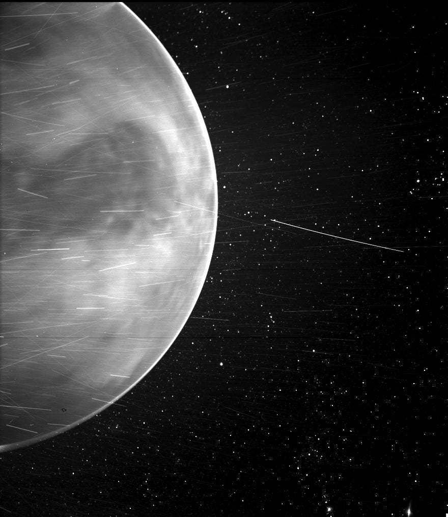 NASA's Parker solar probe has captured stunning new images from Venus