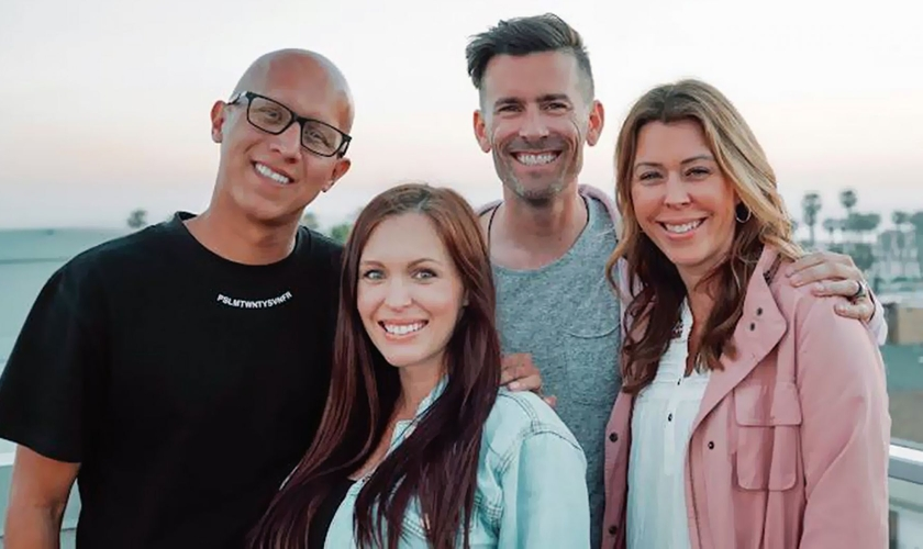 Richard e Brittni De La Mora estão assumindo a liderança da XXXchurch, enquanto Craig Gross e sua esposa, Jeanette, se concentram no ChristianCannabis. (Foto: XXXchurch)