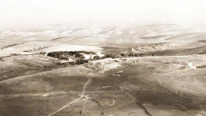 Universidade Hebraica de Jerusalém no Monte Scopus entre 1925-1945. (Foto: Reprodução)