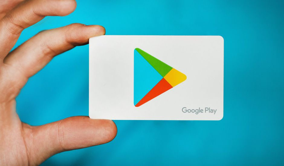 Aperçu du logo Play Store.