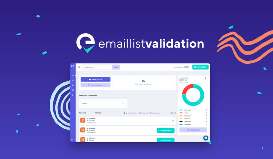 email liste validation