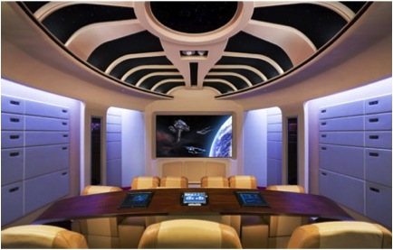 enterprise 10 Incredible Home Theaters