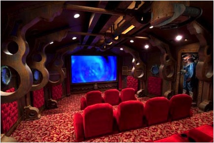 nautilus 10 Incredible Home Theaters
