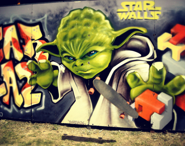 Geeky Graffiti 48 50 Geeky Street Art Pieces Brimming With Awesomeness