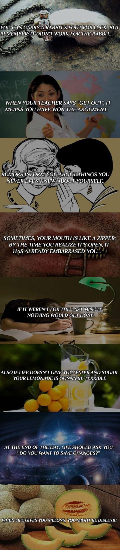 Strange Quotes Make You Think