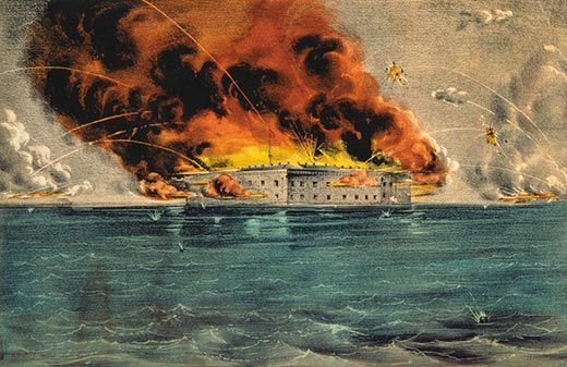 Fort Sumter: The Civil War Begins | History | Smithsonian Magazine