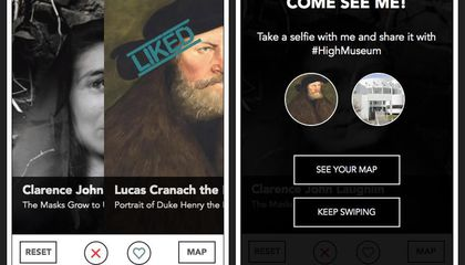 Atlanta Museum's 'Dating' App Matches Visitors With Artwork