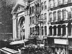 Image result for 1903 – A fire at the Iroquois Theater in Chicago, Illinois kills at least 655