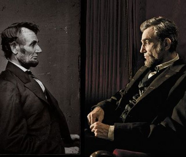 Lincoln Was Photographed In Mathew Bradys Studio During The Winter Of  From The National Portrait Gallery Collection On The Right Daniel Day Lewis