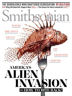Image result for smithsonian lionfish