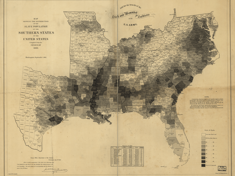 These Maps Reveal How Slavery Expanded Across the United States     Slavery Map