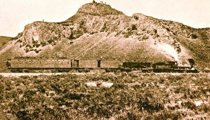 The Last Remaining Rail Car That 'Witnessed' the Transcontinental Railroad's Momentous Day