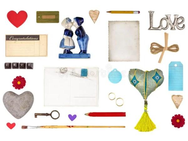 Комплект романтичных предметов для Валентайн и других ...
