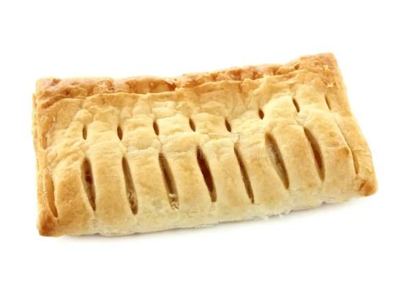 Кусок пирога плодоовощ изолированный на белизне Стоковое ...