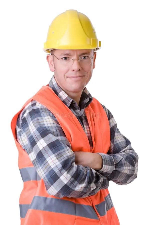 рабочий-строитель стоковое фото. изображение насчитывающей ...