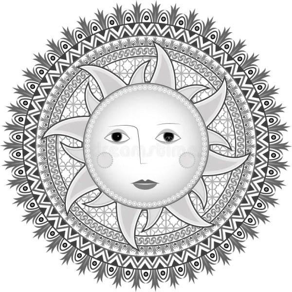 русское солнце типа иллюстрация вектора. иллюстрации ...