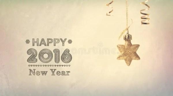 Счастливое сообщение 2016 Нового Года с звездой смертной ...