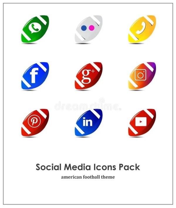 Установите социальных значков средств массовой информации ...