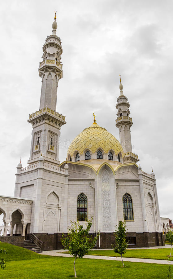 韃靼斯坦共和國,俄羅斯- 2015年7月11日:在sity Bolgar,韃靼斯坦共和國,俄羅斯的白色Mosquei 編輯類庫存照片 ...