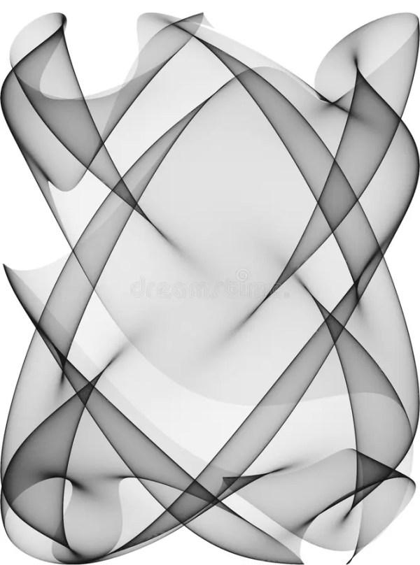 черные линии делают по образцу белизну Иллюстрация штока