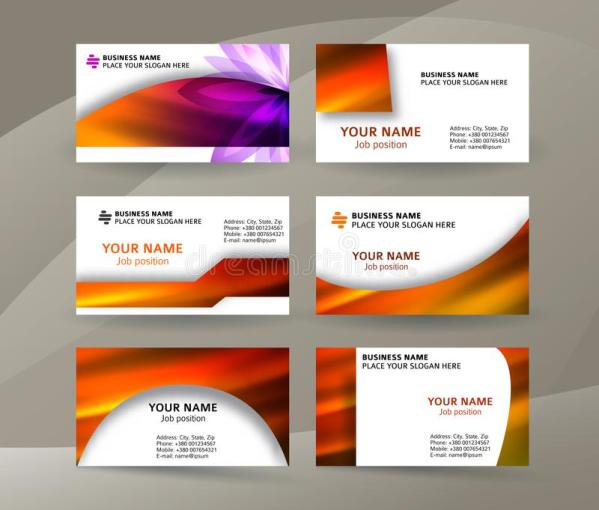 Business Card Layout Template Set28 Stock Vector   Illustration of     Download Business Card Layout Template Set28 Stock Vector   Illustration of  graphic  beauty  111307142