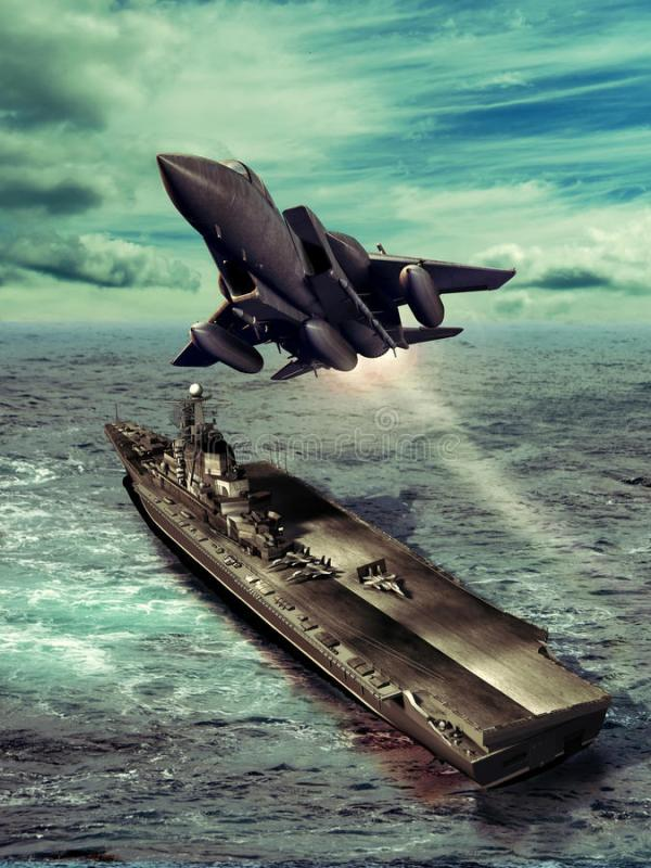Aircraft Carrier Royalty Free Stock Photos - Image: 32661168
