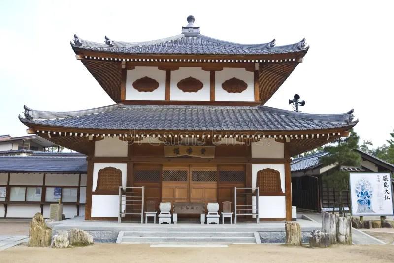 Alte Japanische Hölzerne Häuser Redaktionelles Foto - Bild
