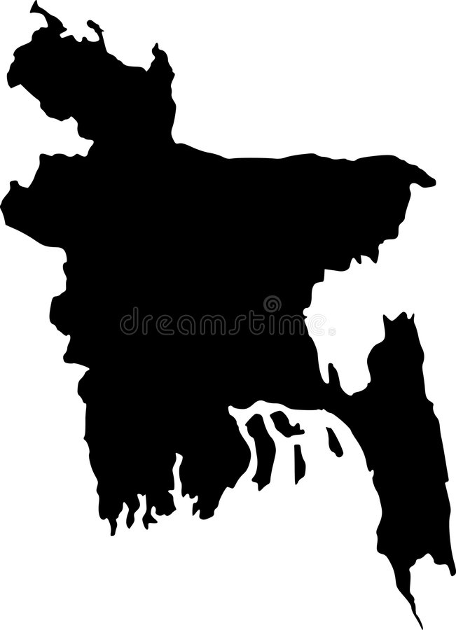 Bangladesh Vector Map Outline Stock Vector   Illustration of kingdom     Download Bangladesh Vector Map Outline Stock Vector   Illustration of  kingdom  nation  6929927