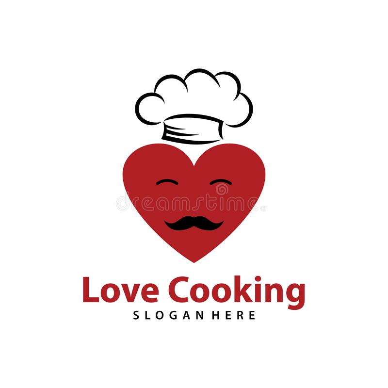 Download Cooking with Love stock illustration. Illustration of ...