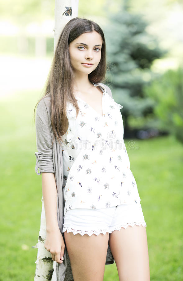 Beautiful Teen Girl Outdoor Royalty Free Stock Images ... on Beautiful Teen  id=90285