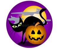 halloween clip art purple