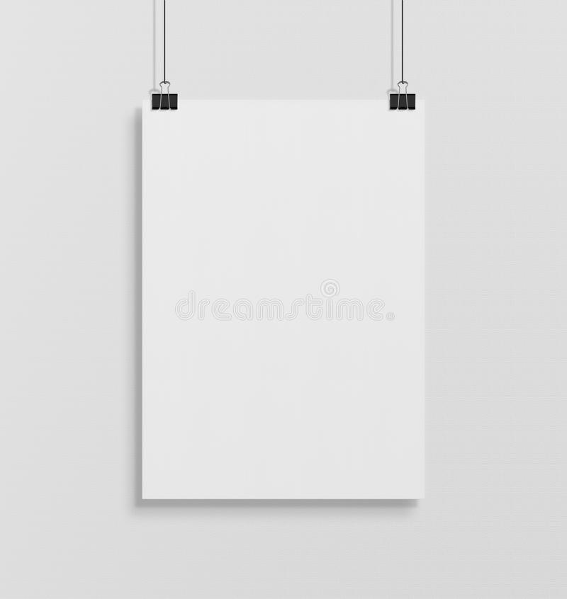poster hanging stock illustrations 39